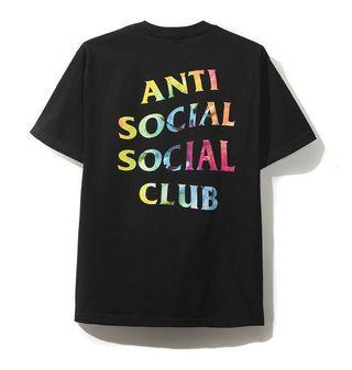 Anti social social club Thai dye tee (nego)