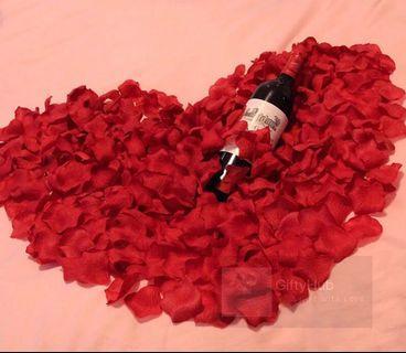 Silk Rose Petal (100/packet) | Instock