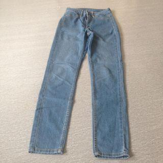 High waist ankle jeans