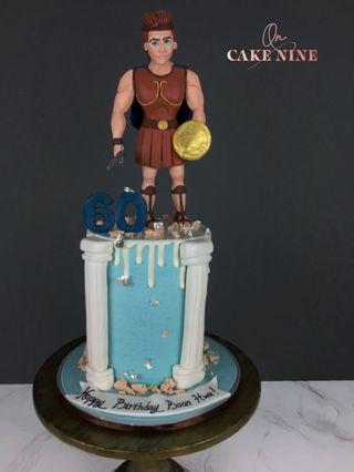 Disney Hercules Celebration Cake