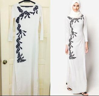 Zalia Dress White