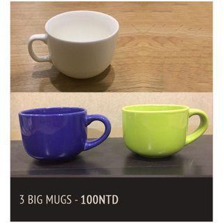 大杯子 3x Big Mugs