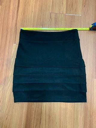 Black Party Skirt (XS/S)