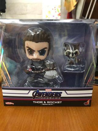 hottoys cosbaby Thor&rocket