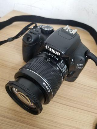 Canon 18megapixel video dslr camera, connect with mobile