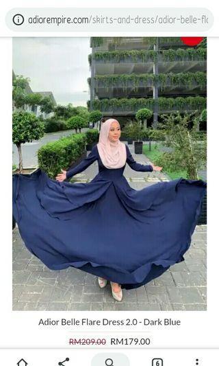 Adior belle flare dress v2