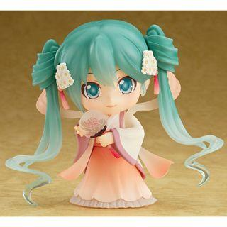 全新 日版 GOOD SMILE NENDOROID 黏土人 539 HATSUNE MIKU 初音未來 HARVEST MOON VER 中秋明月 限定