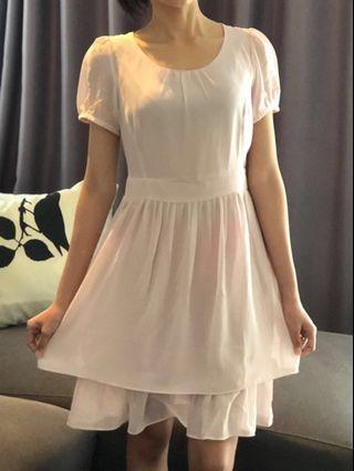 Preloved Pink Summer Party Dress [SALE]