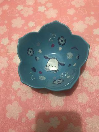PC狗花形陶瓷碗