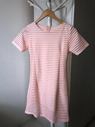 Preloved Pink Short Dress [SALE]