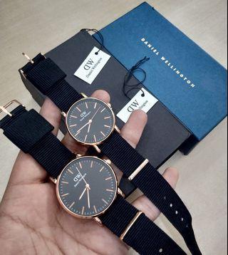 Daniel Wellington Kanvas Couple Murah Premium