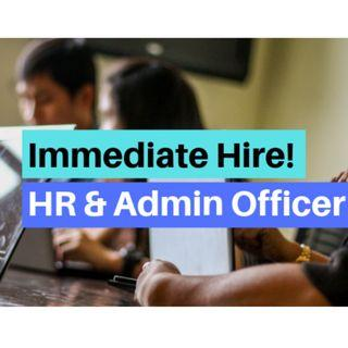 Human Resource & Administrative Officer