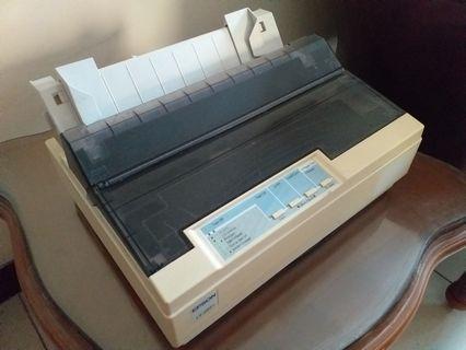 Printer Epson  LX 300+, berfungsi baik n normal