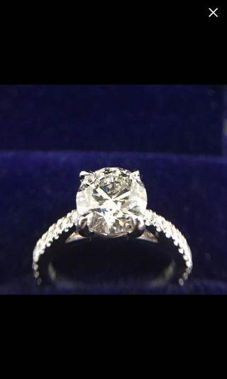 GIA 證書 鑽石 戒指 耳環 頸鍊