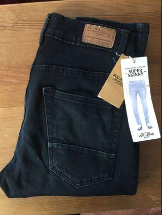 Pull and Bear Black denim