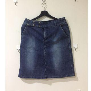 "U2 牛仔裙子 29""腰 Denim Skirt 29"" waist"