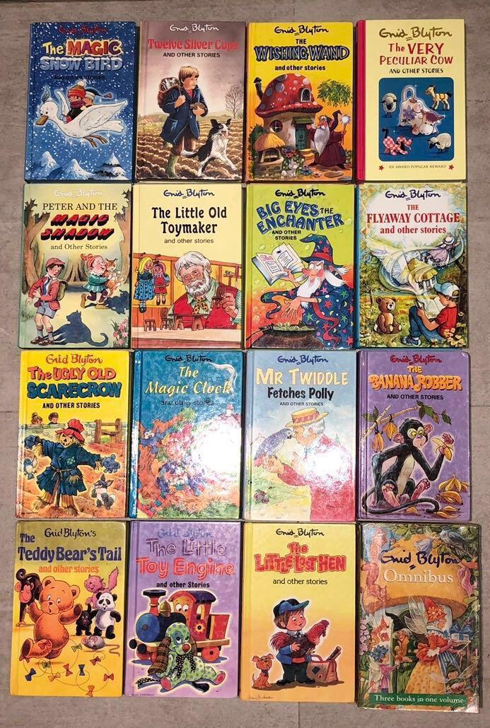 16 Enid Blyton Books