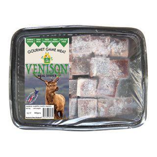 Pet Cubes Frozen Fresh Venison Meat Cubes