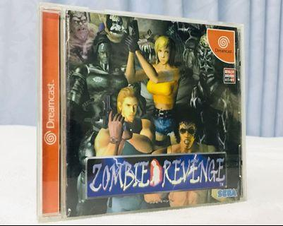 Dreamcast DC game Zombie Revenge 日版 新淨