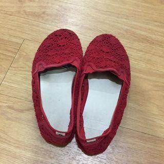 AIRWALK 休閒 / 无带便鞋 鞋 Red Slip-ons