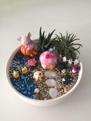 🚚 Farm terrarium