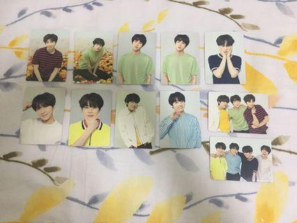 [WTT] BTS Love Yourself LY Tour Japan Mini Photocards