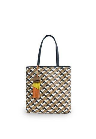 Tote Bag diskon tas Anyaman Besar Chameo Couture