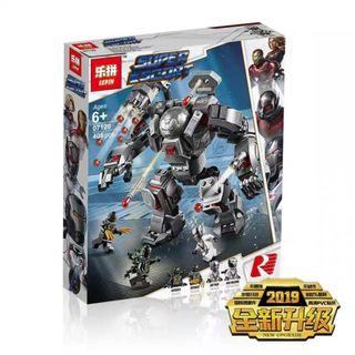 Compatible 07121 Avengers ENDGAME Iron Man Hall of Armour