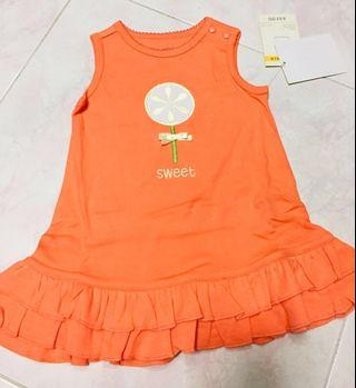 Girl Kid, one piece dresses - 2 for $10 size 6 months, 9 months ,12 months & 18 months