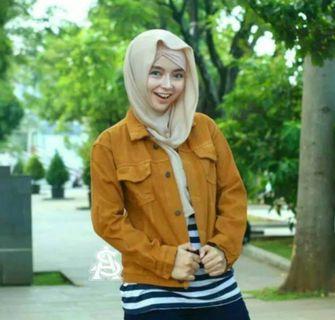 Jaket warna cewek