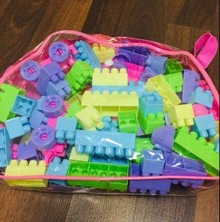 🚚 Puzzles & Blocks - with free bird puzzle box take all the 4 for $12