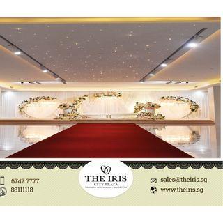 Malay Wedding Package Promotion 2020 Singapore - The Iris City Plaza ( 6 7 4 7 7 7 7 7 )