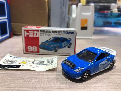 Tomica Celica Racing Type
