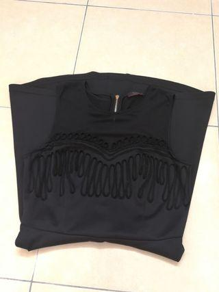 Soda Black Lace Flare Dress