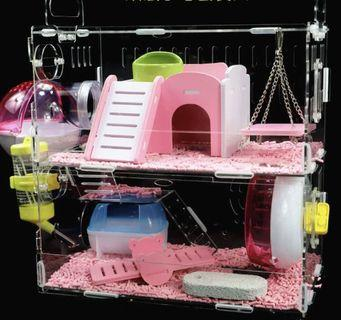 Hamster Acrylic cage