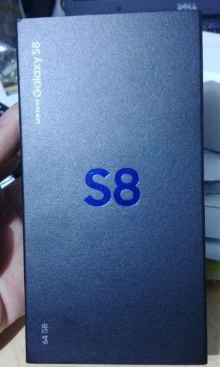 Samsung S8 64GB DUOS Midnight Black