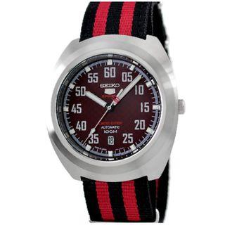*MADE IN JAPAN* Seiko SRPA87J1 RED HELMET Limited Edition Automatic Nylon Watch SRPA87 SRPA