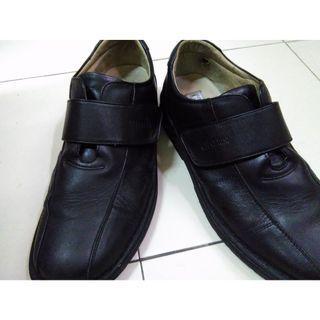 CR Cerini 真牛皮 工作檢查 上班 學生皮鞋