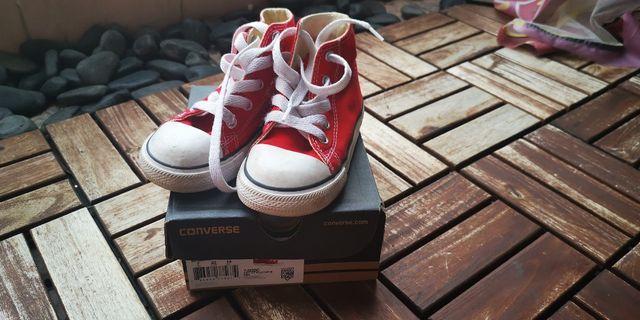 Converse All Star Hi Cut Red (Infant) Original