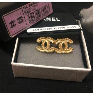 CHANEL EARRINGS (Authentic)
