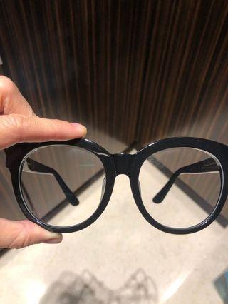 EGG鏡框平光鏡 (連太陽眼鏡鏡片)