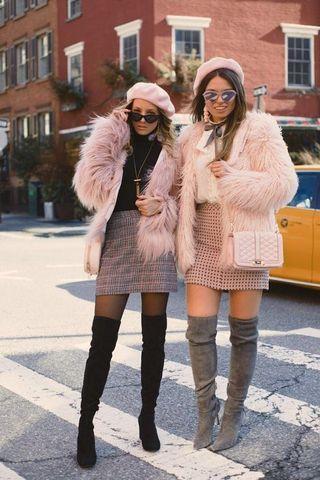 * PRICE DROP* Lioness pink faux fur coat/jacket