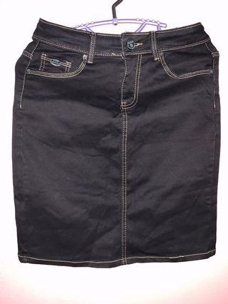 Guess Black Short Skirt