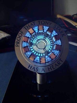 Tony Stark Arc Reactor including Cover