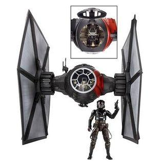 Star wars massive tie fighter the black for 6 inch figures loose.