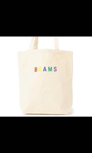 Beams tote bag