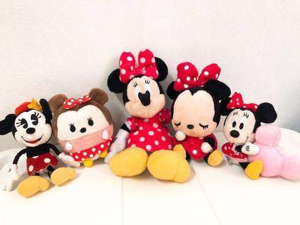 Disney Minnie Doll (included 5)