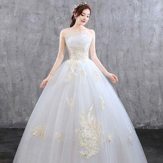 Elegant White Wedding Dress for Rent