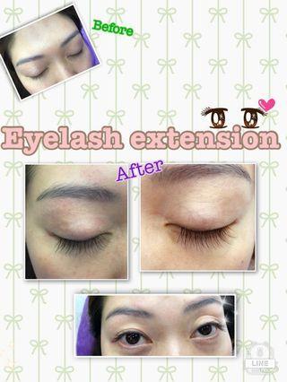 Eyelashes Extensions 誠徵植睫毛model