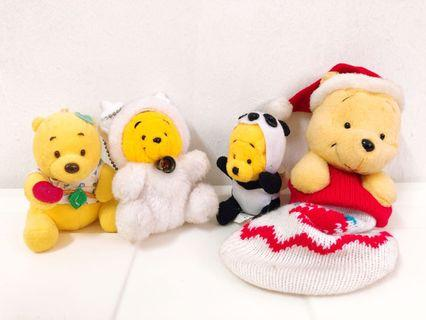 Disney Pooh Doll (included 4)